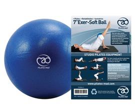 18cm Exer-Soft Blå Pilatesboll