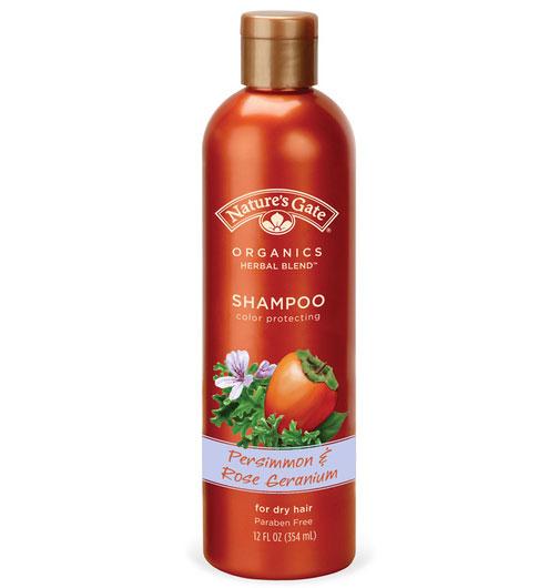 Persimmon & Rose Geranium skyddande shampo