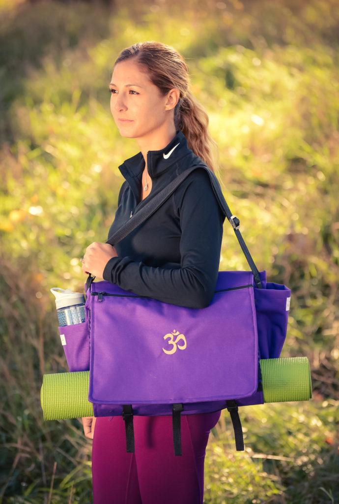 Yogaväska Purple Mala