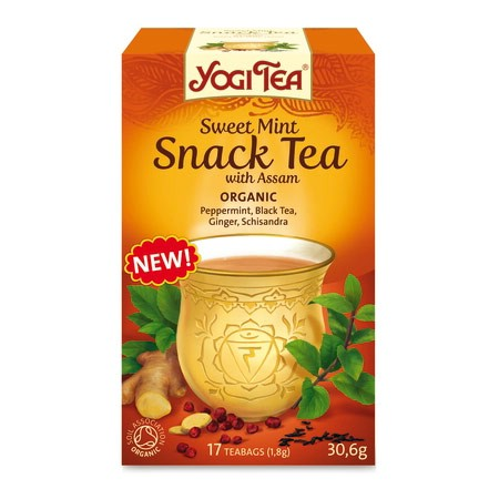 Yogi Tea Sweet Mint snack