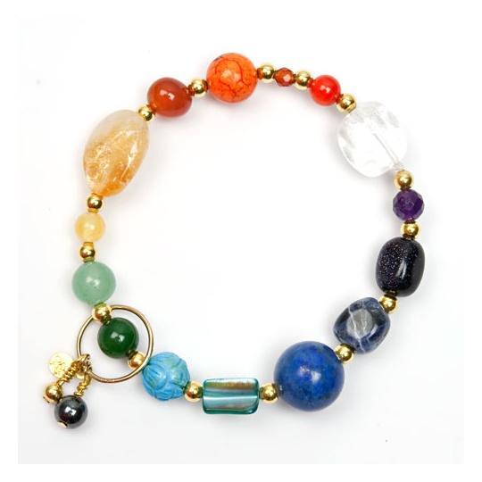 Kundalini Chakra Armband Guld