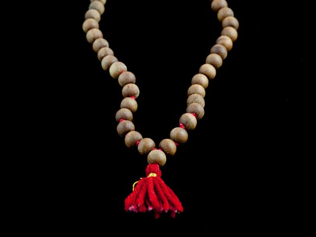 Sandalwood Mala Halsband