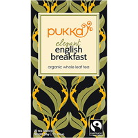 Pukka Elegant English Breakfast EKO