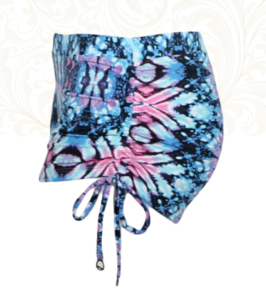 Bootie Shorts Cosmic Ice