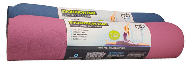 Yogamatta Evolution Deluxe 6mm