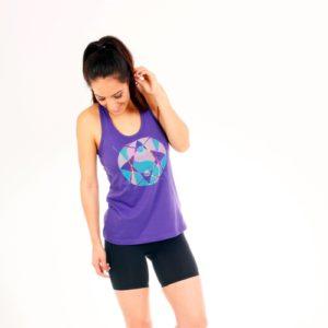 YinYang Violet Tank
