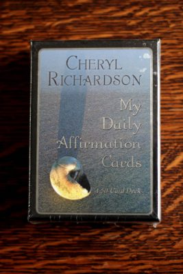 My Daily Affirmation Cards av Cheryl Richardson