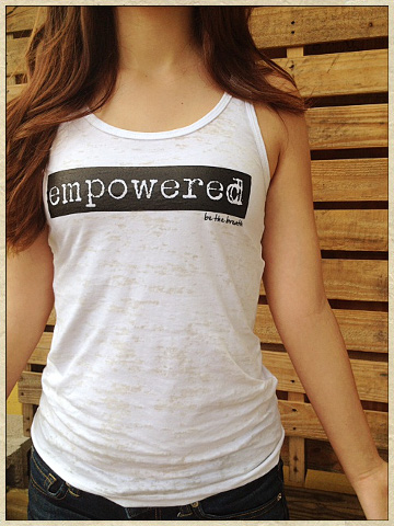 Empowered Burnout Tank