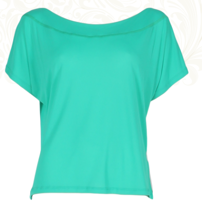 Sunkissed Tshirt Emerald Green