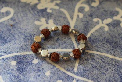 Rudraksha Seed Armband