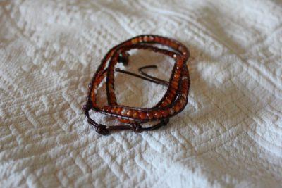 Wraparmband KARNEOL