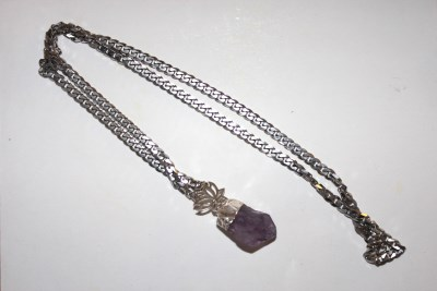 Lotus Amethyst Halsband