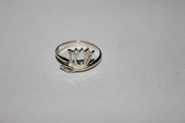 Lotus Silver Ring