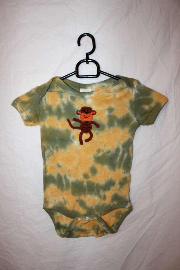 Batikfärgad BabyBody