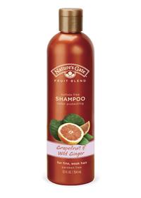 Grapefruit & Wild Ginger shampo för torrt och färgat hår