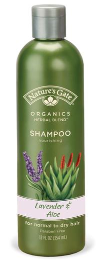 Lavender & Aloe närande shampo för normalt till torrt hår