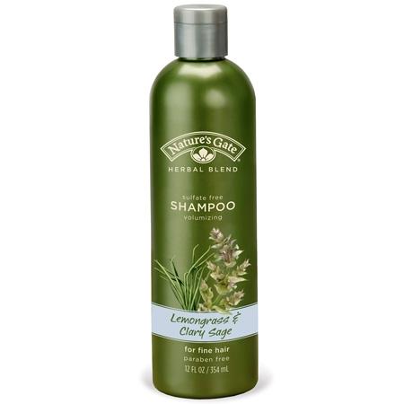 Lemongrass & Clary sage shampo för extra volym