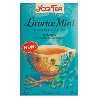 Yogi Tea Liquorice Mint