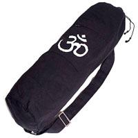 Organisk Yogabag med Om tryck