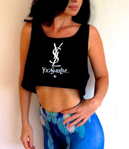 Yoga Smile Live Crop Top