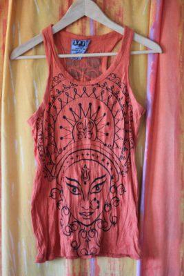 Durga Orange Tank Top