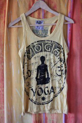 Yoga Ohm Yellow Tank Top