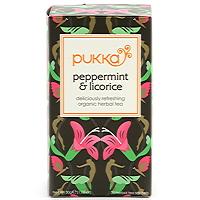 Pukka Peppermint Licorice EKO