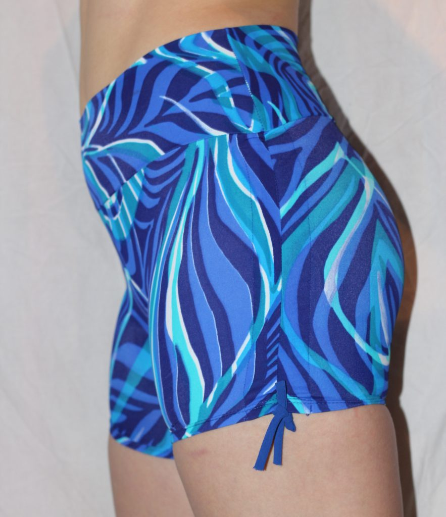 Blue Jungle Shorties