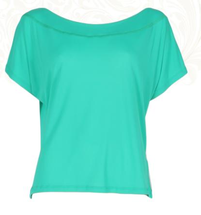 Sunkissed Tshirt Emerald Green