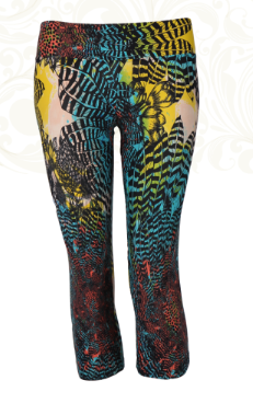 Yogabyxor Capri Watercolour Feather